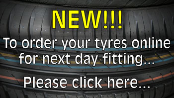 Order your tyres online